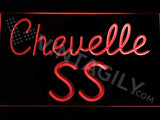Chevrolet Chevelle SS LED Neon Sign USB - Red - TheLedHeroes