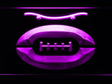 New York Jets (8) LED Neon Sign USB - Purple - TheLedHeroes