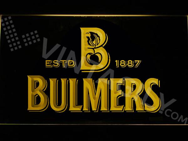Bulmers LED Neon Sign Electrical - Yellow - TheLedHeroes