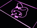 FREE My Melody Hello Kitty (2) LED Sign - Purple - TheLedHeroes