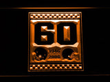 Cleveland Browns 60th Anniversary LED Neon Sign USB - Orange - TheLedHeroes