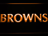 Cleveland Browns (7) LED Neon Sign Electrical - Orange - TheLedHeroes