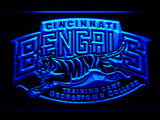 Cincinnati Bengals Training Camp Georgetown College LED Sign - Blue - TheLedHeroes