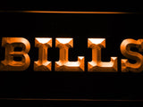 Buffalo Bills (5) LED Neon Sign Electrical - Orange - TheLedHeroes