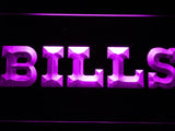 Buffalo Bills (5) LED Neon Sign Electrical - Purple - TheLedHeroes