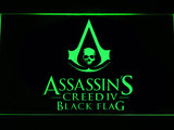 FREE Assassin's Creed Black Flag LED Sign - Green - TheLedHeroes