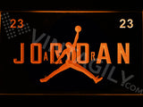 FREE Jordan 23 LED Sign - Red - TheLedHeroes