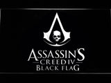 FREE Assassin's Creed Black Flag LED Sign - White - TheLedHeroes