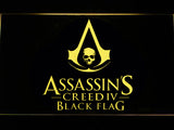 FREE Assassin's Creed Black Flag LED Sign - Yellow - TheLedHeroes
