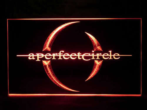 A Perfect Circle LED Sign - Red - TheLedHeroes
