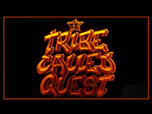 A Tribe Called Quest LED Sign - Orange - TheLedHeroes