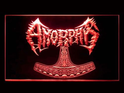 Amorphis LED Sign - Red - TheLedHeroes