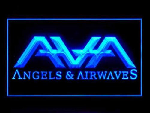 Angels And Airwaves LED Sign - Blue - TheLedHeroes