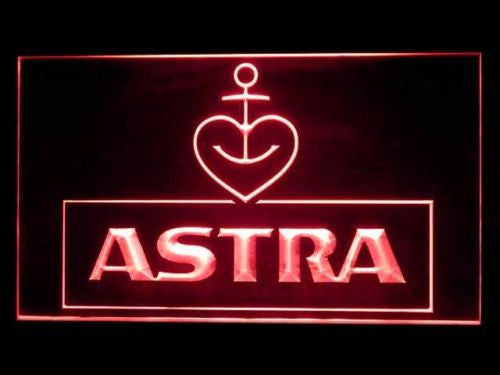 Astra Beer LED Sign - Red - TheLedHeroes