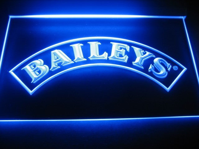 Baileys LED Sign - Blue - TheLedHeroes