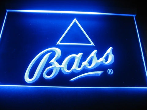 Bass Brewery LED Sign - Blue - TheLedHeroes