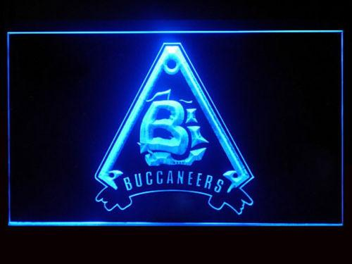 Battlestar Galactica Caprica Buccaneers LED Neon Sign USB - Blue - TheLedHeroes