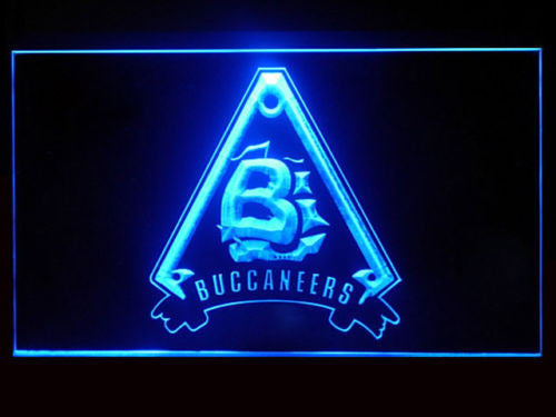 Battlestar Galactica Caprica Buccaneers LED Sign - Blue - TheLedHeroes