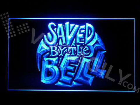 Bayside Tigers Saved By The Bell LED Sign - Blue - TheLedHeroes