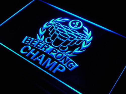 Beer Pong Champ LED Sign -  - TheLedHeroes