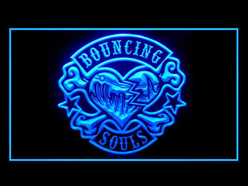 Bouncing Souls LED Sign - Blue - TheLedHeroes