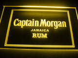 FREE Captain Morgan Jamaica Rum LED Sign - Yellow - TheLedHeroes