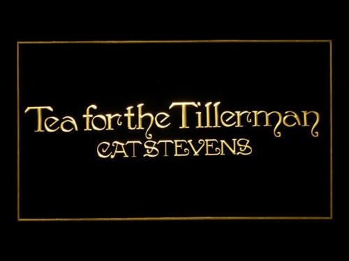 Cat Stevens Tea For The Tillerman LED Sign - Multicolor - TheLedHeroes