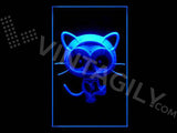 Chococat LED Sign