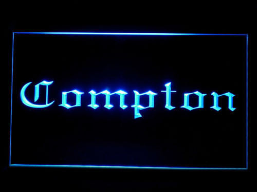 Compton LED Sign - Blue - TheLedHeroes