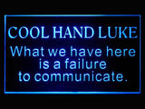 Cool Hand Luke LED Sign - Blue - TheLedHeroes