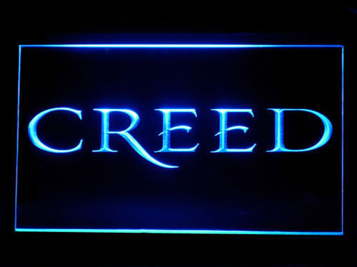 FREE Creed LED Sign - Blue - TheLedHeroes
