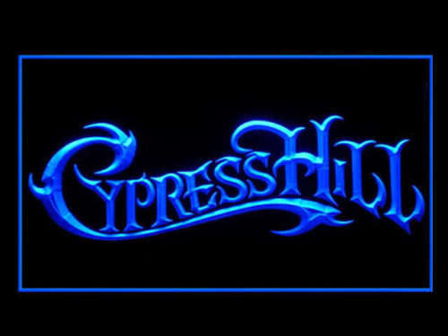 Cypress Hill LED Sign - Blue - TheLedHeroes