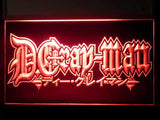 D.Gray-man LED Sign - Red - TheLedHeroes