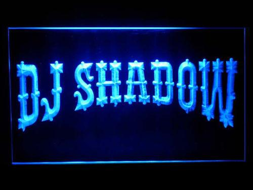 DJ Shadow LED Neon Sign USB - Blue - TheLedHeroes