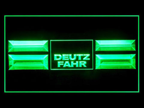 FREE Deutz Fahr Service Repair Parts LED Sign - Green - TheLedHeroes