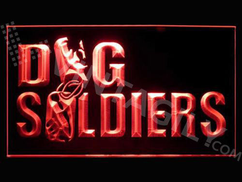 FREE Dog Soldiers LED Sign -  - TheLedHeroes
