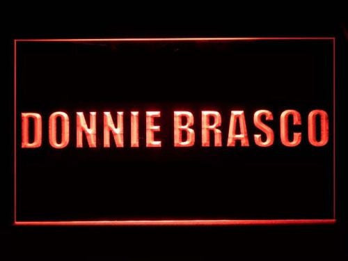 FREE Donnie Brasco LED Sign - Red - TheLedHeroes