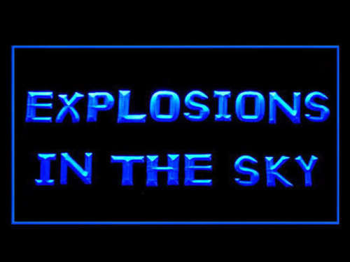 Explosions in the Sky LED Sign - Blue - TheLedHeroes