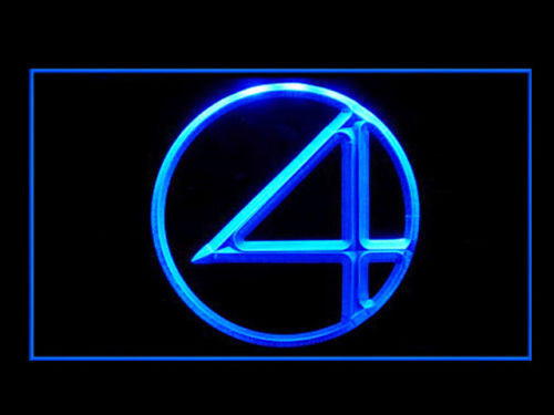 Fantastic Four LED Sign - Blue - TheLedHeroes