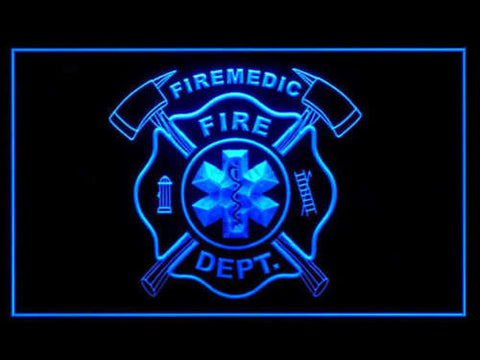 FireMedic LED Sign - Blue - TheLedHeroes
