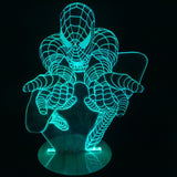 Spider-Man 3D LED LAMP -  - TheLedHeroes