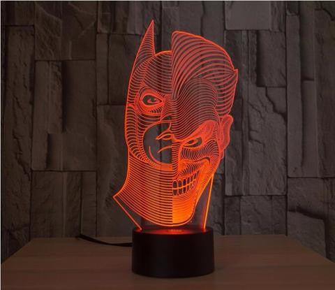 Batman vs Joker 3D LED LAMP