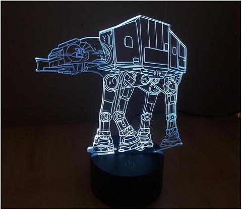 All Terrain Armored Transport 3D LED LAMP -  - TheLedHeroes