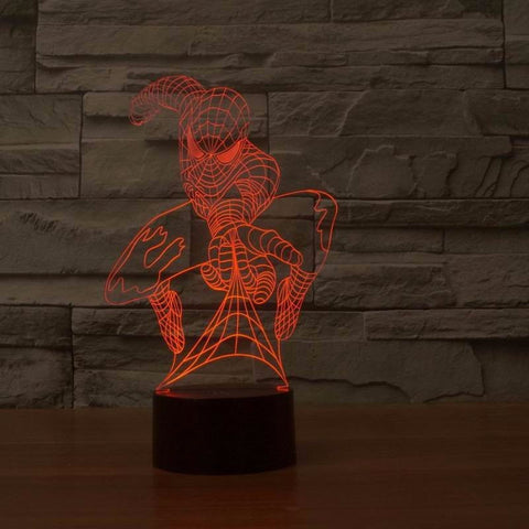 Spider-Man 3D LED LAMP