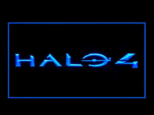 FREE Halo 4 LED Sign - Blue - TheLedHeroes