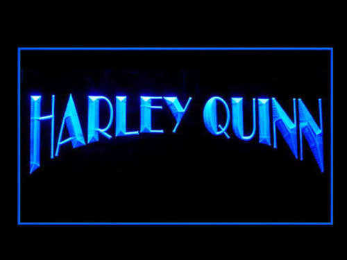 FREE Harley Quinn LED Sign - Blue - TheLedHeroes