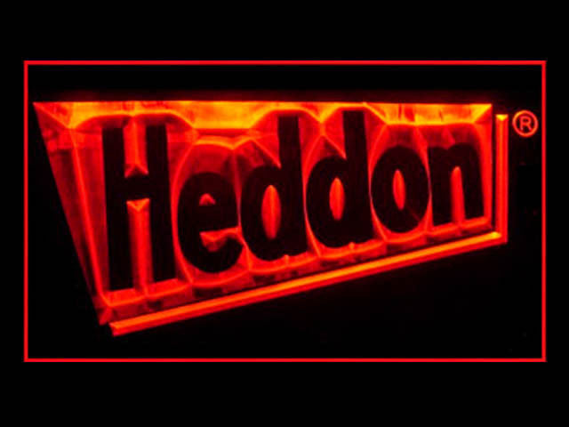 Heddon LED Sign - Red - TheLedHeroes