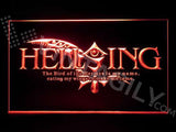 Hellsing LED Sign - Red - TheLedHeroes