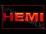Hemi LED Neon Sign USB -  - TheLedHeroes
