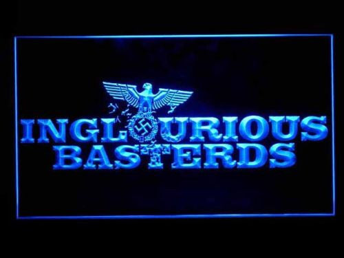 FREE Inglourious Basterds LED Sign - Blue - TheLedHeroes